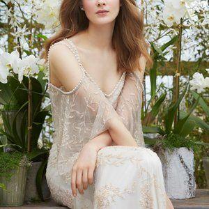 Theia Layla 890425 Blush Wedding Gown 0 4 8 10 12